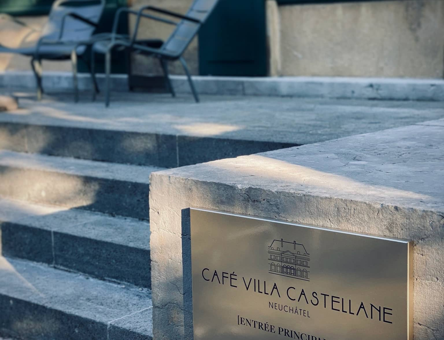 Association Villa Castellane - terrasse café